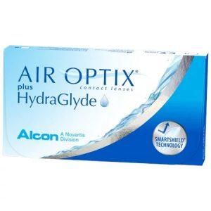 Alcon Air Optix Plus Hydraglyde Contact Lenses