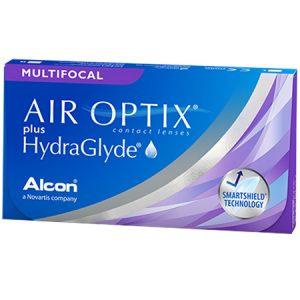 Alcon Air Optix Plus Hydraglyde Multifocal Contact Lenses