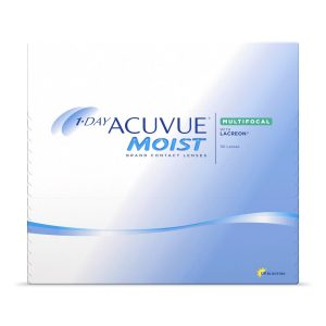 1 Day Acuvue Moist Contact lenses - Multifocal - with Lacreon - 90 Pack