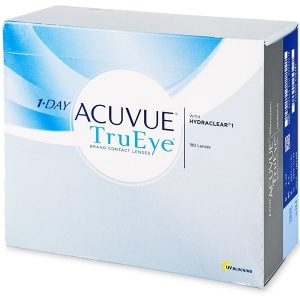 1 Day Acuvue TruEye contact lenses with Hydraclear - 180 pack