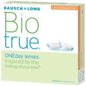 Bausch & Lomb BioTrue ONEday Lenses for Astigmatism - 90 Pack