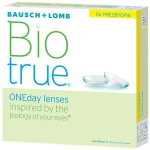 Bausch & Lomb Biotrue One Day Lenses for presbyopia